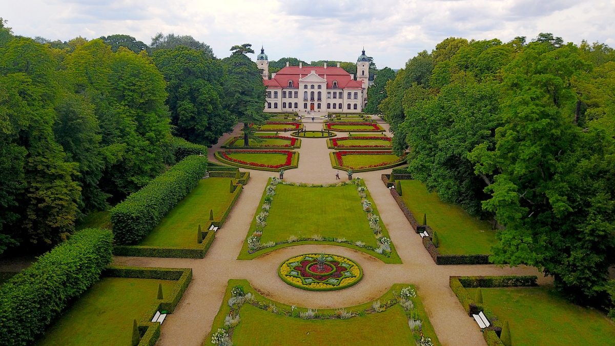 Palats i Polen - Kazlowka castle