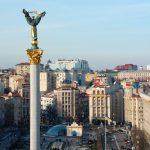 Kiev i lågor