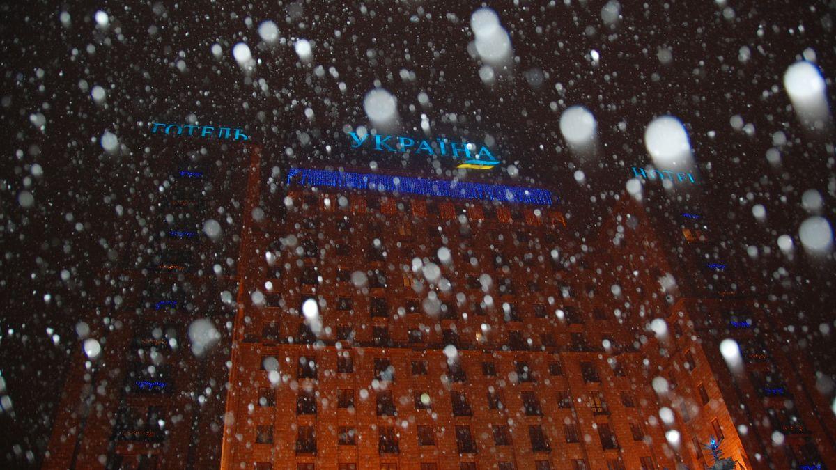 Kiev snö