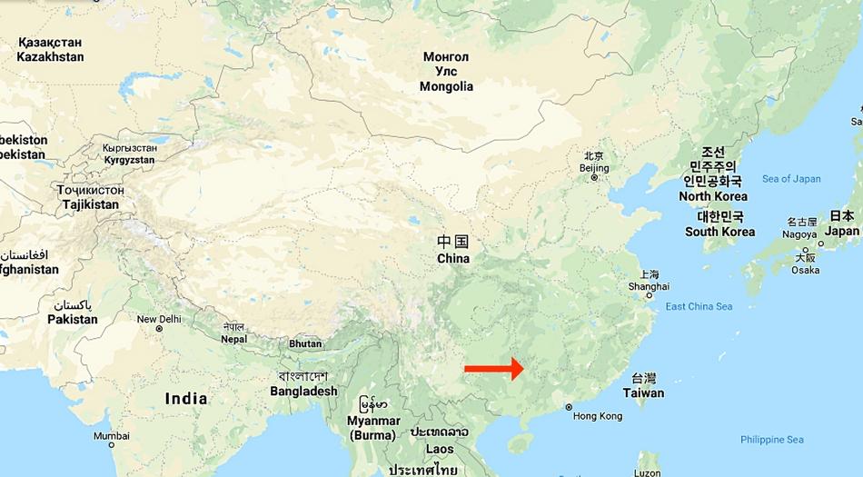 Kina, Guilin