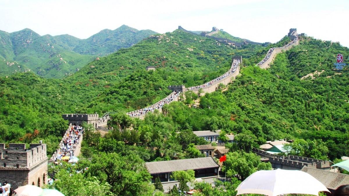 Kina kinesiska muren