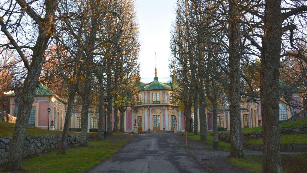 Kina slott vid Drottningholms slott i Stockholm