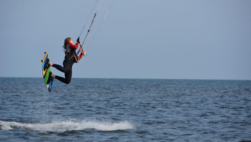 Träna på semestern - Kitesurfing