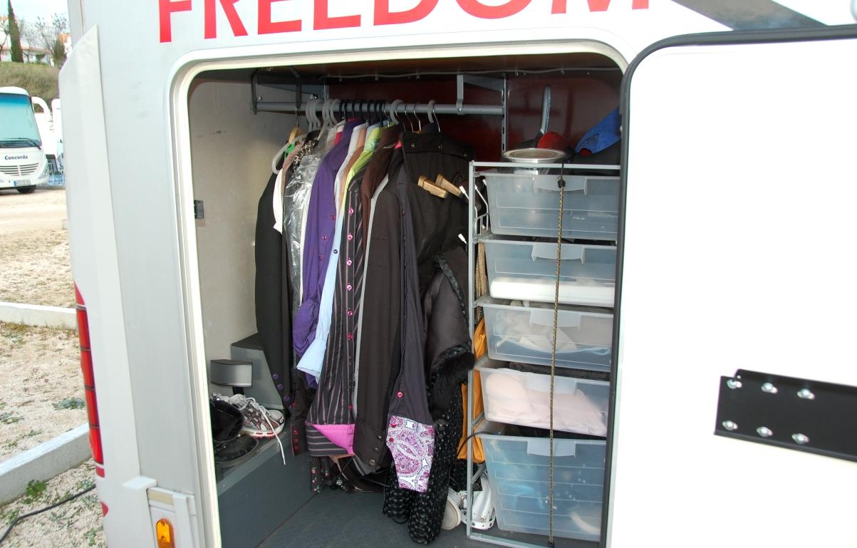 Klädförvaring i husbilen