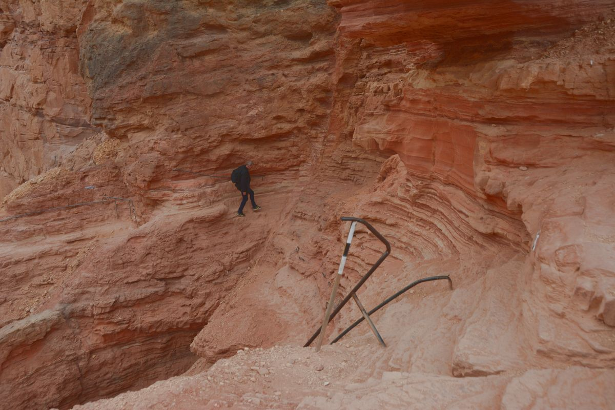 Red Canyon i Israel
