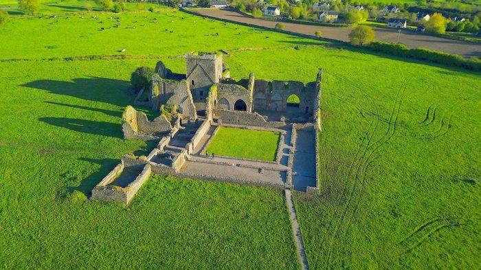 Hore Abbey på Irland