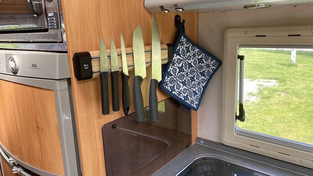 Smarta lösningar i husbilen - knivlist