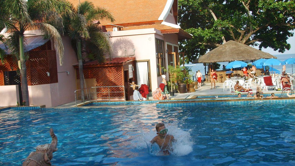 Koh Samui hotell med pool