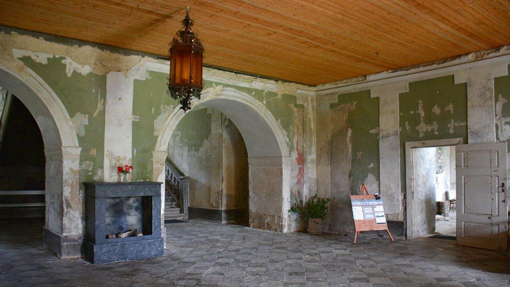 Kolga mois i nationalparken Lahemaa i Estland