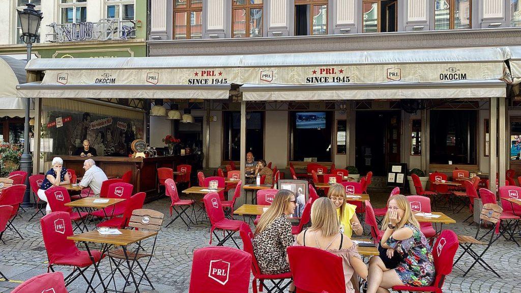 Café i Wroclaw