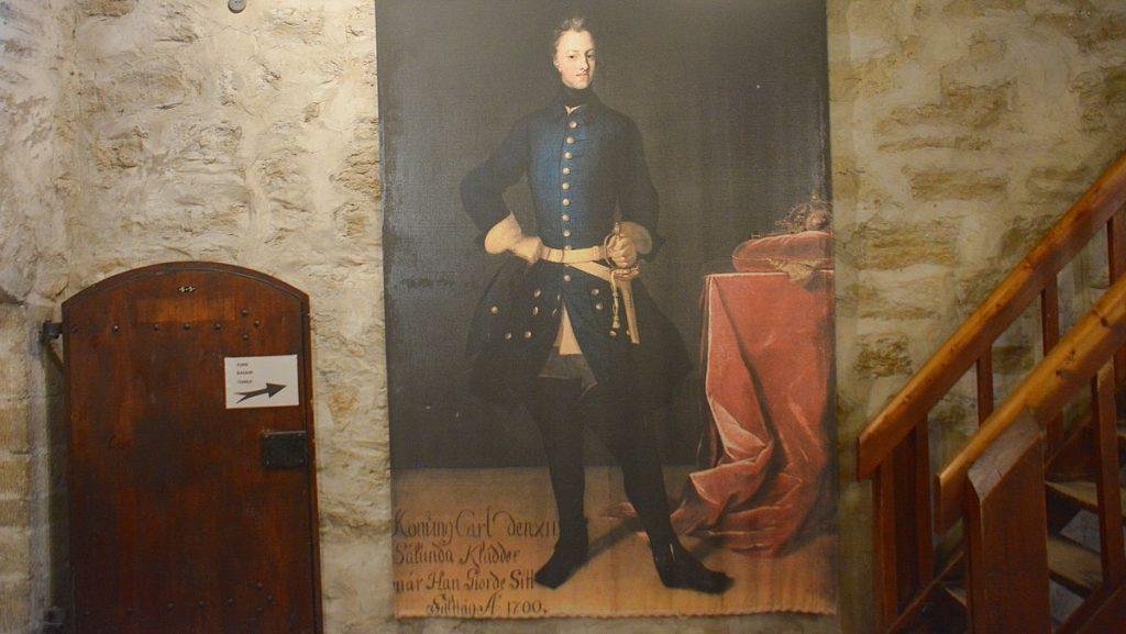 Svensk kung i Narva i Estland
