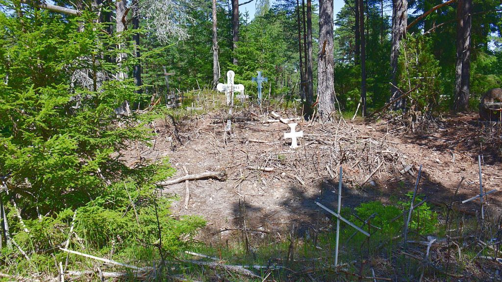 Korsberget på Dagö i Estland