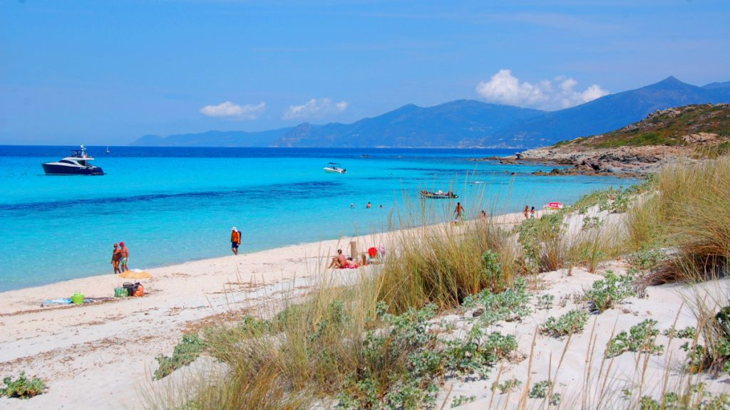 Saleccia beach