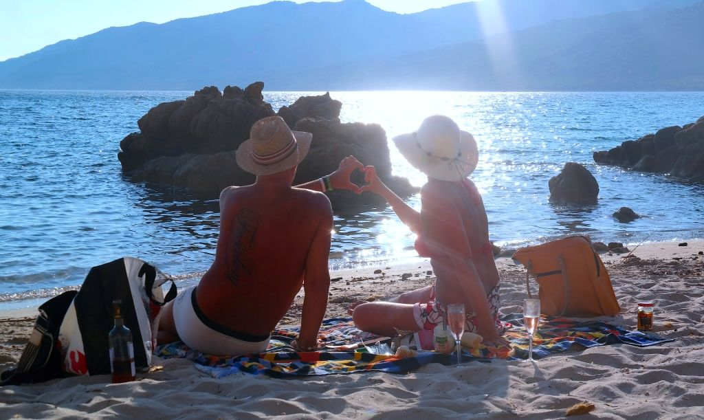Peter och jag på Korsika 2015
