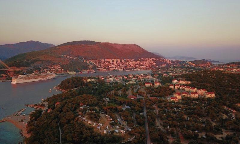 Dubrovnik drönarfoto