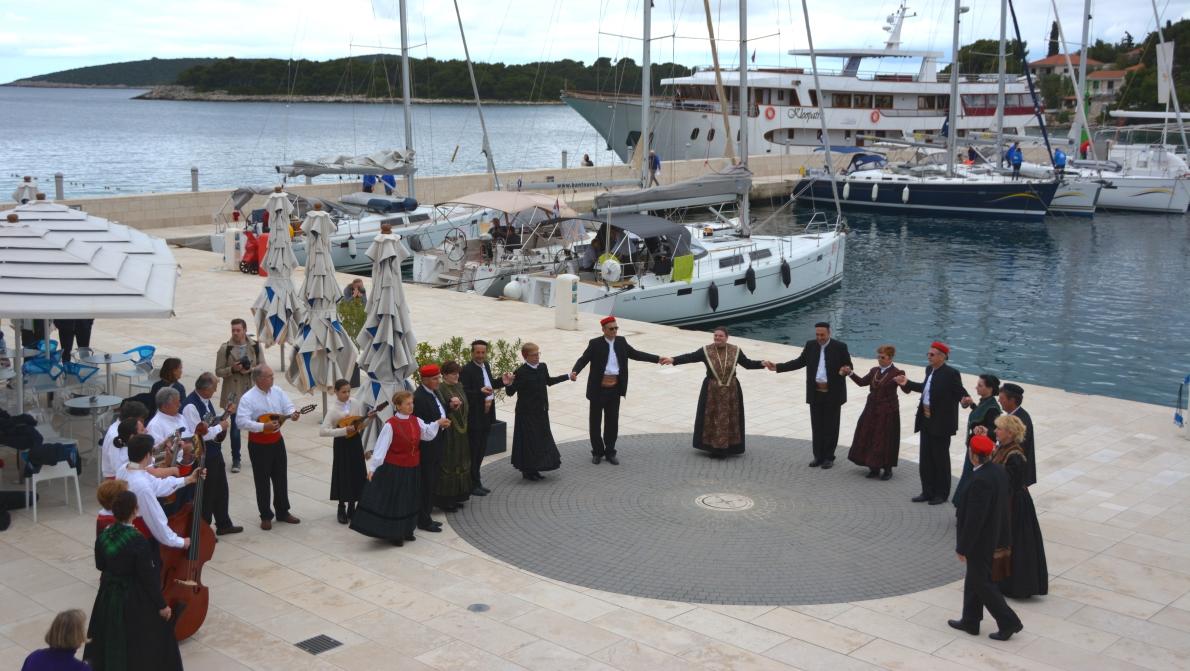 Kroatisk folkdans på ön Šolta
