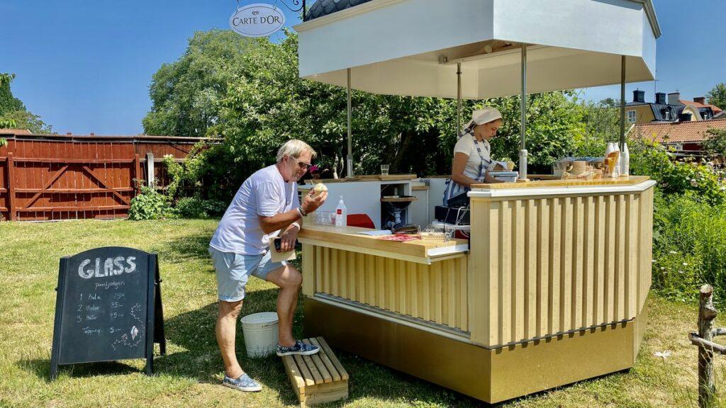 Göra i Kalmar - glass på Krusenstiernska