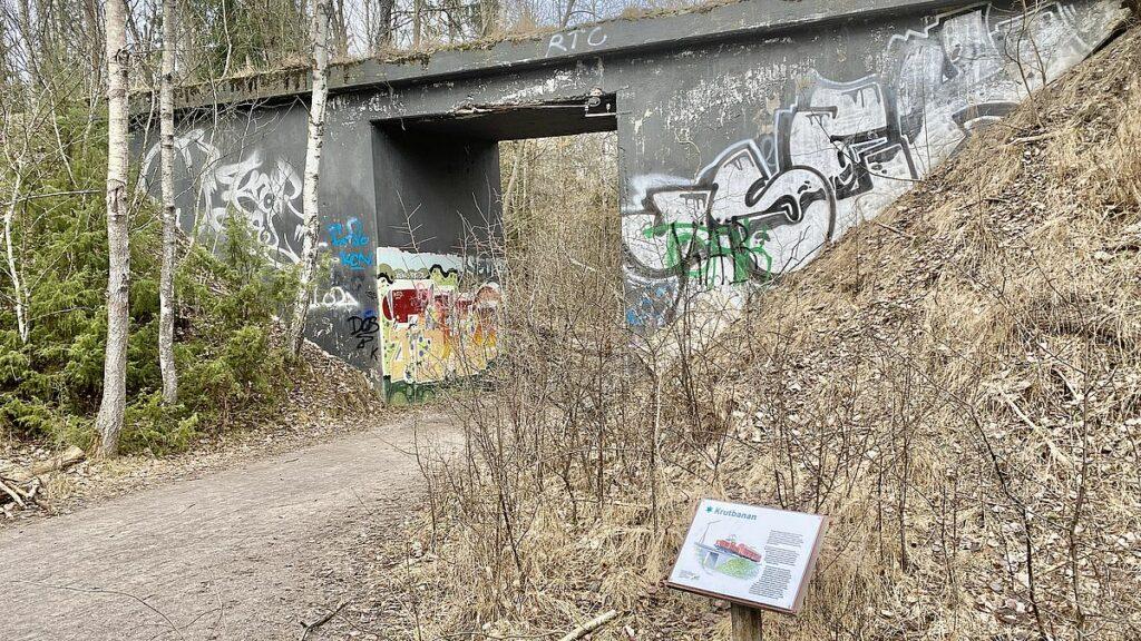 Krutbanan i Igelbäckens naturreservat