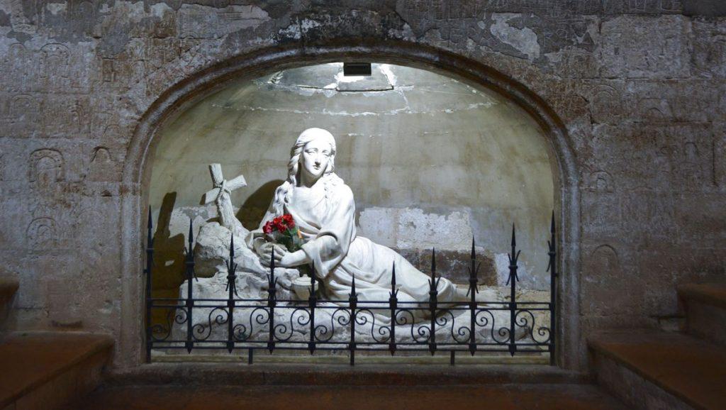 Krypta Saint Maxime Sainte La Baume