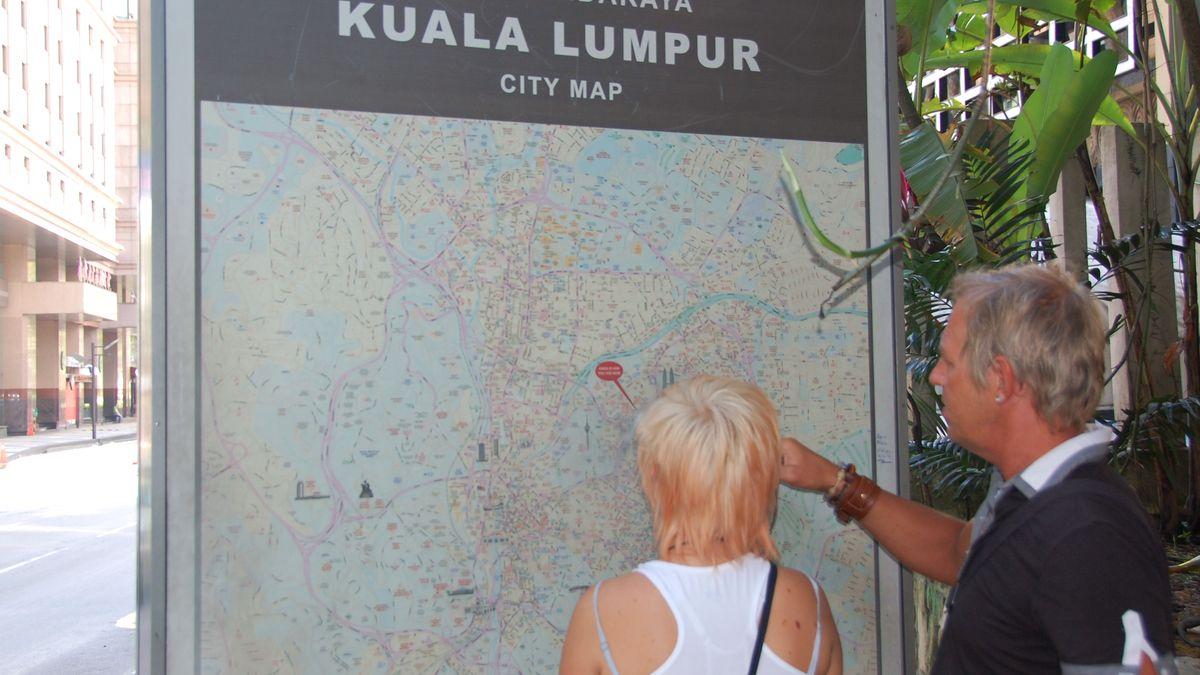 En dag i Kuala Lumpur