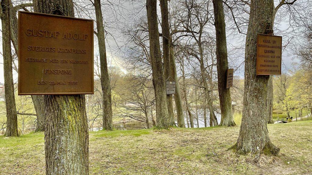 Finspångs slott - Kungatavlorna
