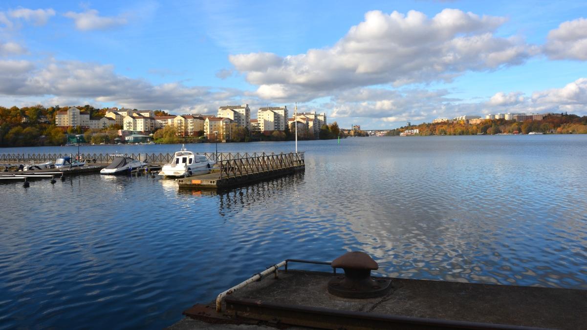 Sandö sugga fyr ligger i Kristineberg