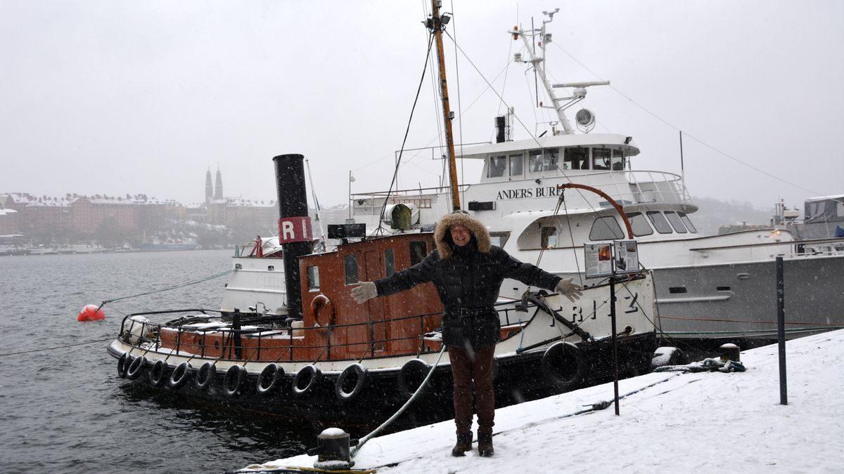 Bland skeppen vid Norr Mälarstrand