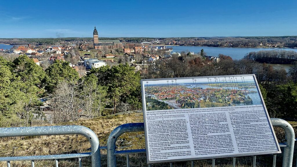 Göra i Strängnäs - se utsikten från Kungstornet