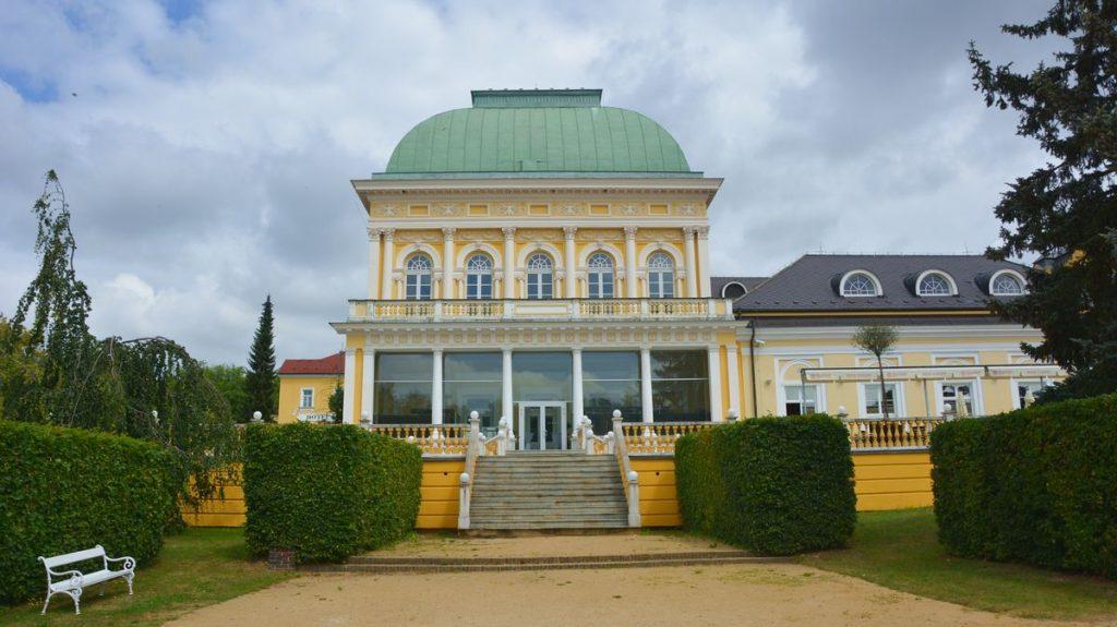 Kurort Frantiskovy Lazne i Tjeckien