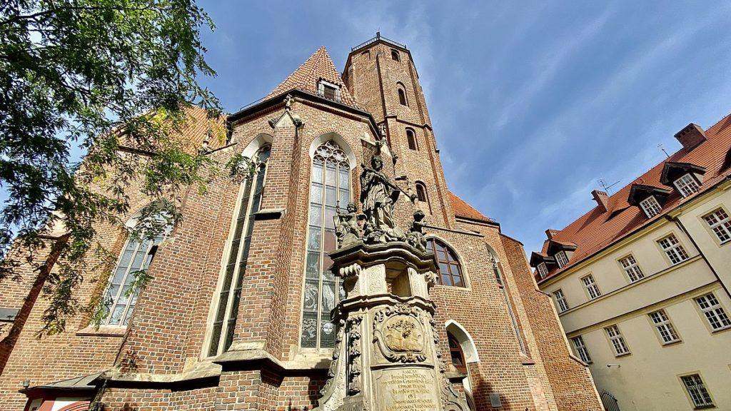 Kyrka i Wroclaw