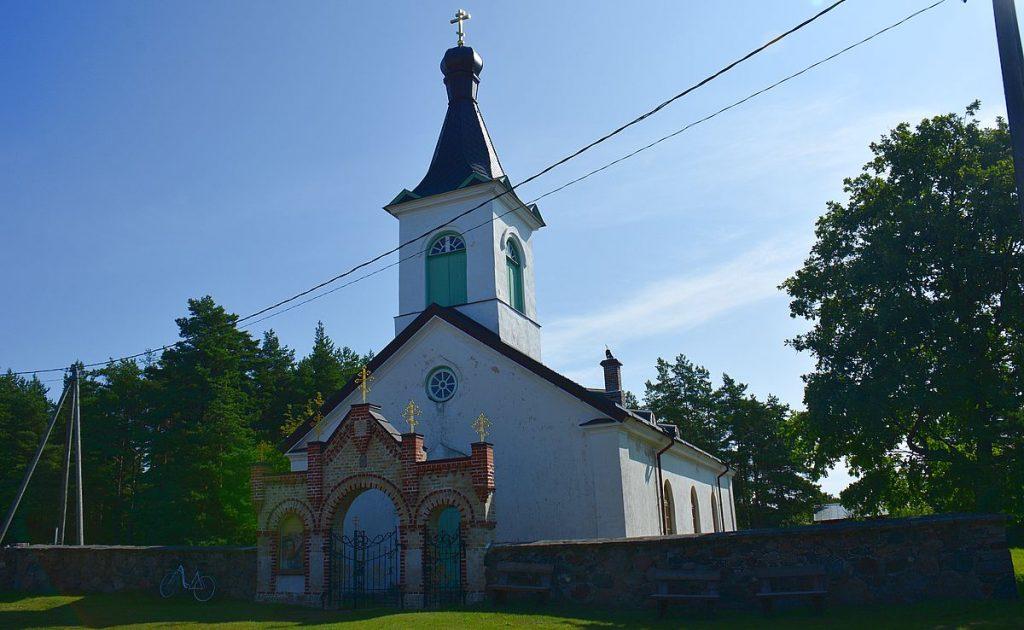 Kyrkan på Kynö i Estland