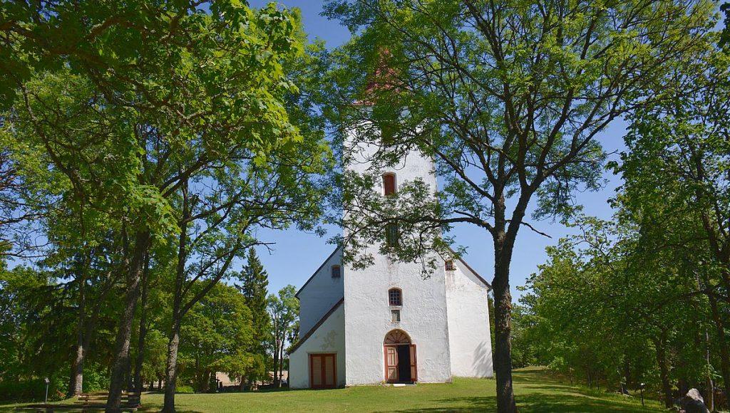 Svenskarnas kyrka i Röicks på Dagö i Estland