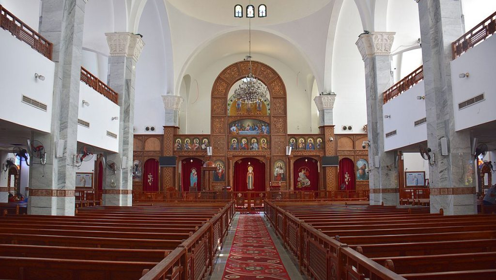 Göra i Hurghada: besöka koptiska katedralen Shenouda