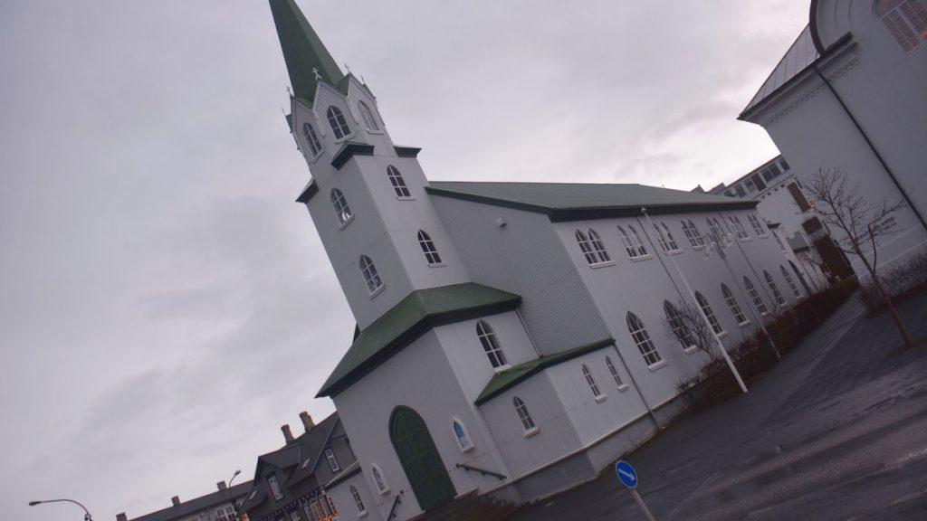 Kyrka Reykjavik