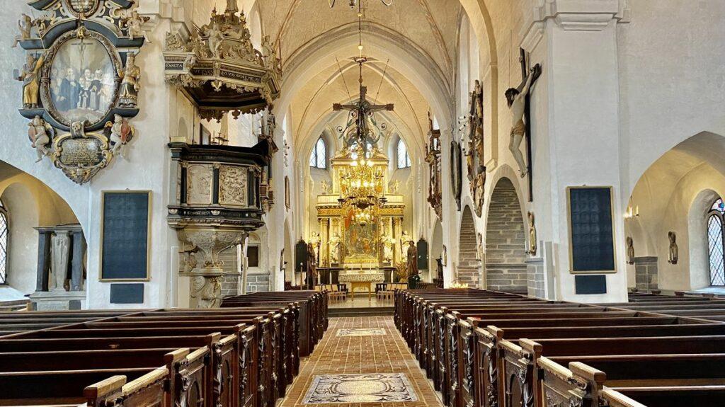 Göra i Ystad - Sankta Maria kyrka