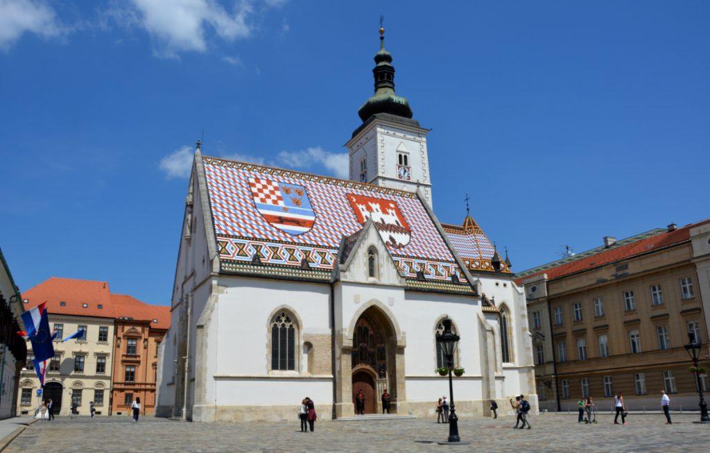 Kyrkan i Gradec i Zagreb