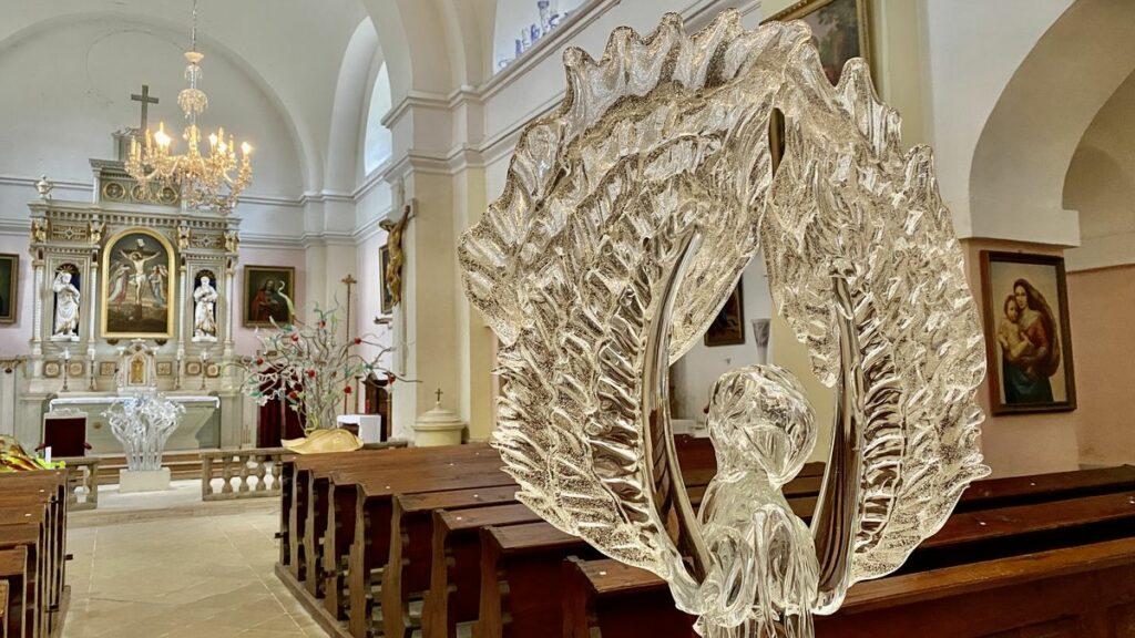 The Holy Cross Exaltation Church - glaskyrka