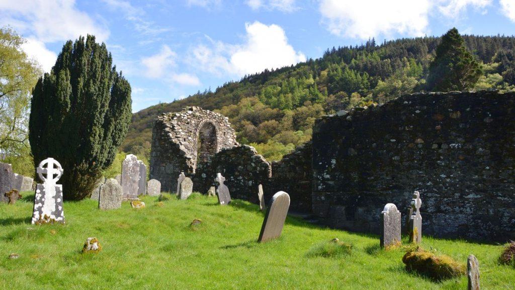 Kyrkogård Glendalough