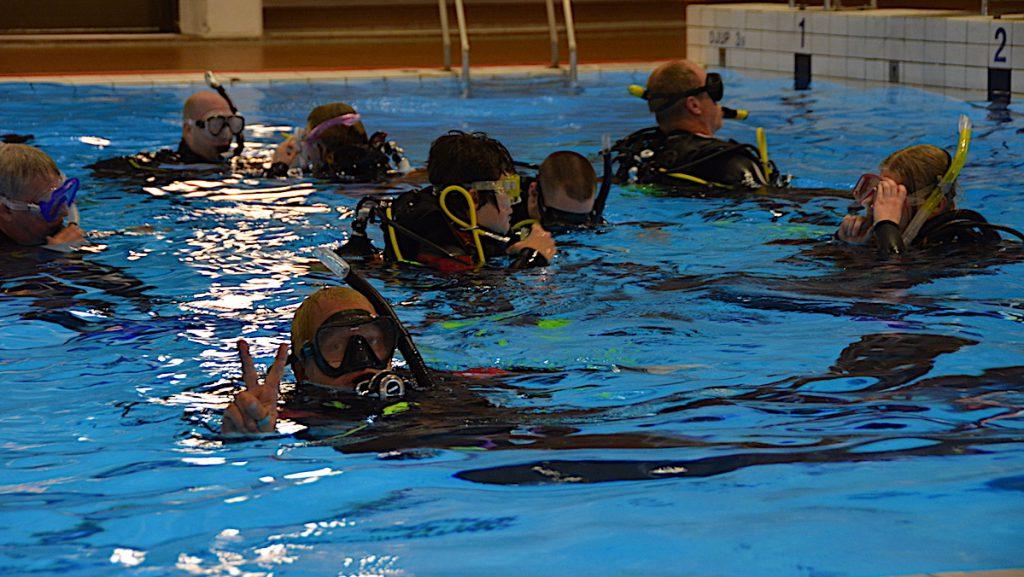 Lära sig dyka