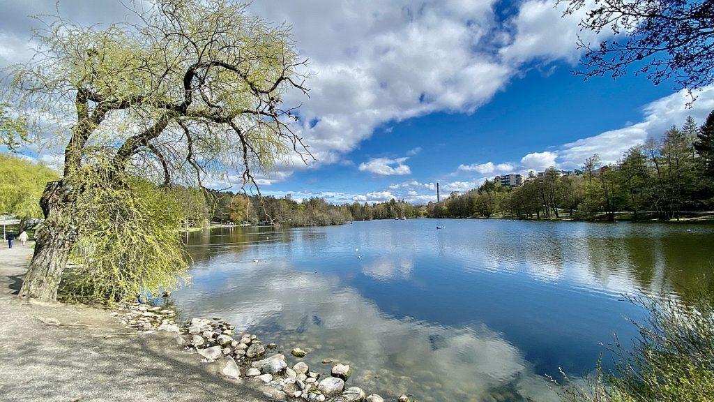 Utflykter i Stockholm i coronatider - Lötsjön