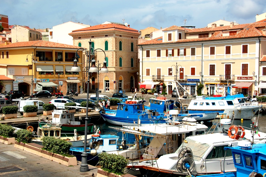Hamnen i La Maddalena