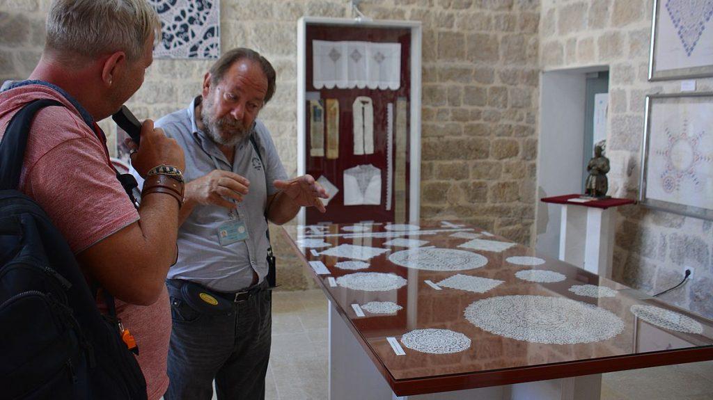 spetsmuseum på ön Pag i Kroatien