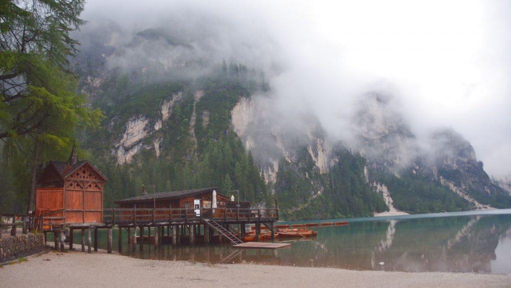 Sjön lago di Braies