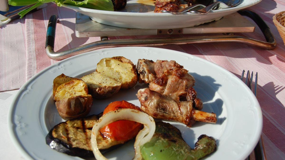 Restaurang på Brac