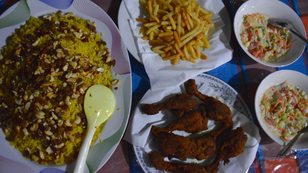 Sri Lanka mat, Negombo i Sri Lanka