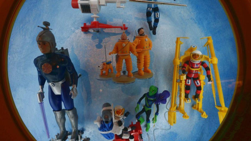 Leksaker i museum i Bergrummet