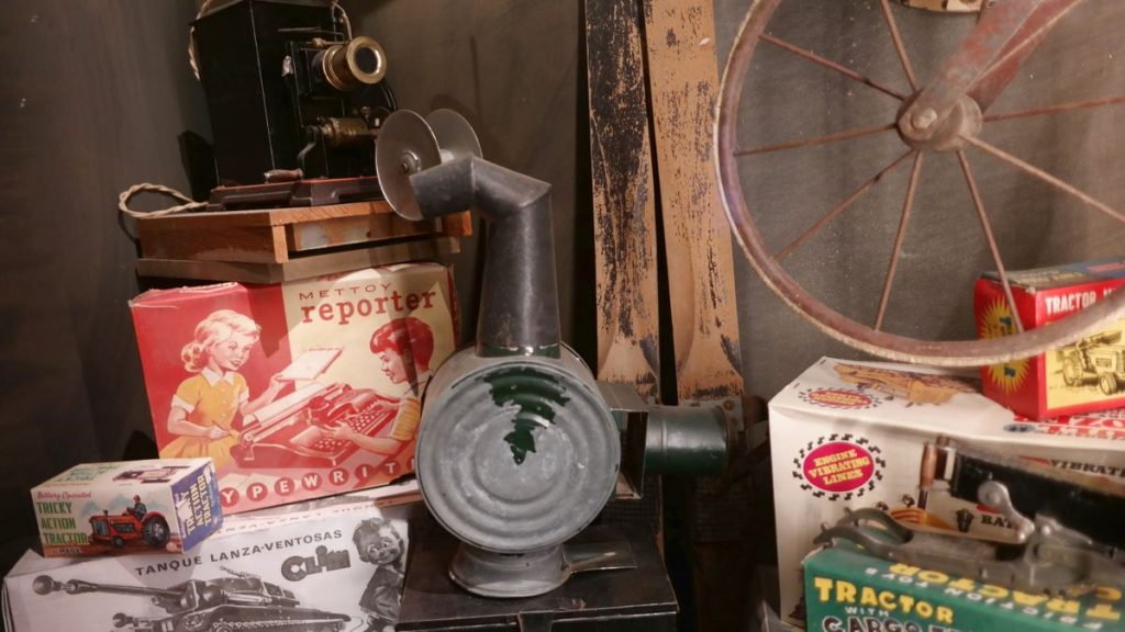 leksaksmuseum i Bergrummet