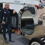 Coola minihusvagnar och husbilar på Caravan i helsingfors