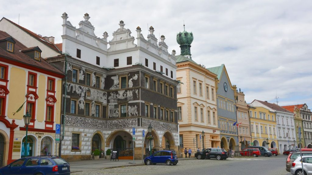 Litomerice i Tjeckien