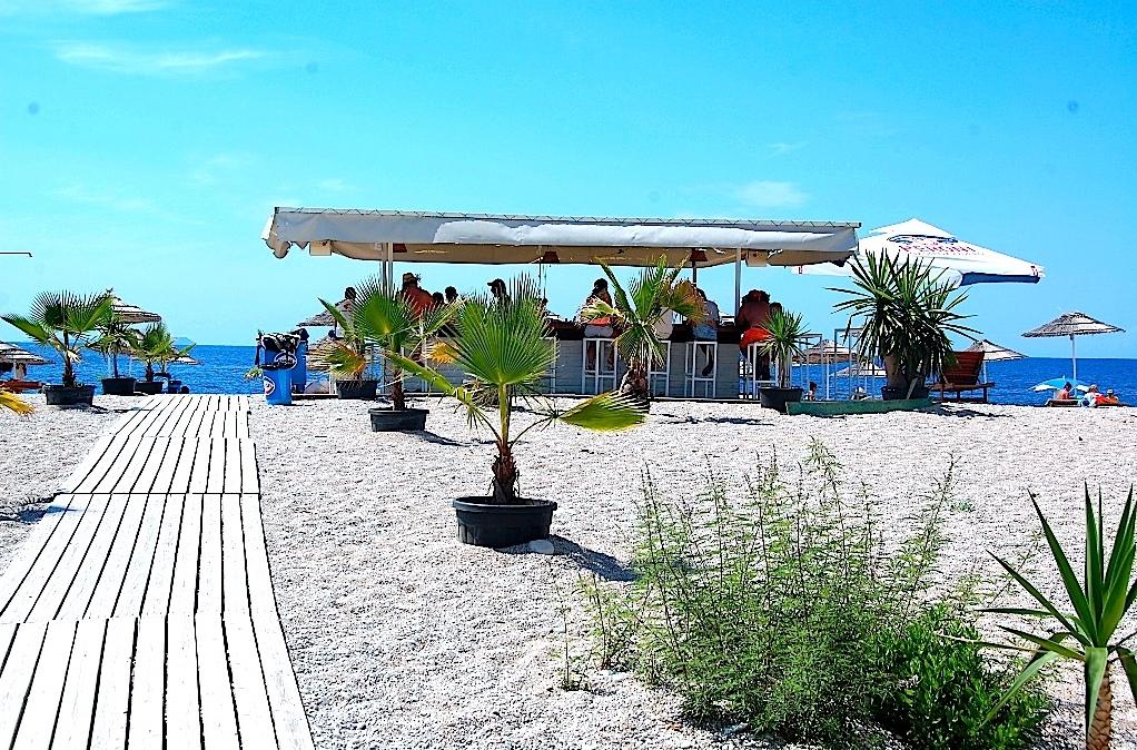 Livadhi beach Albanien